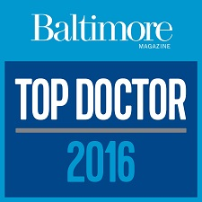 "Baltimore Magazine Top Doctor 2016 - Arvinder ""Daisy"" Uppal, MD"