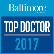 "Baltimore Magazine Top Doctor 2017 - Arvinder ""Daisy"" Uppal, MD"